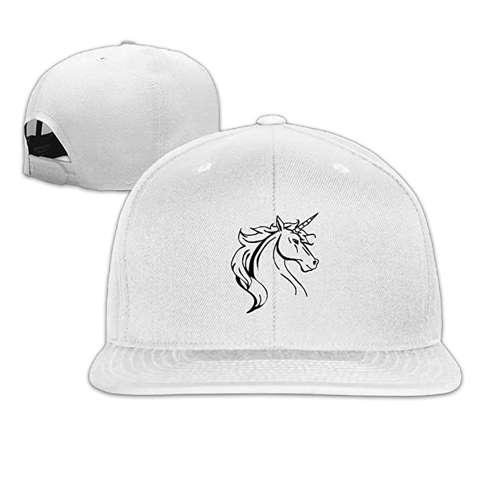 727274f2fcdd4 Plain Flat Baseball Caps Unicorn Animal 90s Top Quality Summer Hats at  Amazon Men s Clothing store
