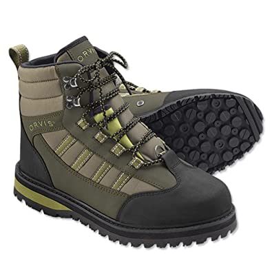 Orvis Encounter Wading Boots - Rubber Sole - / Olive Decorative Original brand