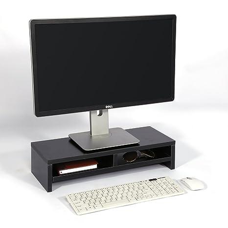 Soporte para Monitor de Escritorio, Pantalla LCD para TV, Ordenador portátil, Estante Elevador