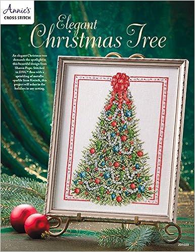 elegant christmas tree cross stitch annies 9781590122419 amazoncom books - Elegant Christmas Tree