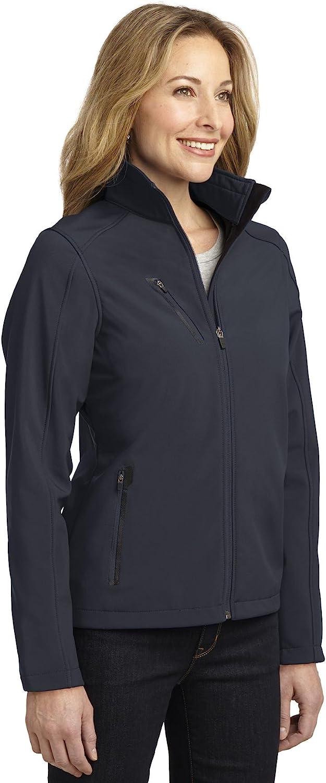 Battleship Grey L324 XS Port Authority Womens Welded Soft Shell Jacket