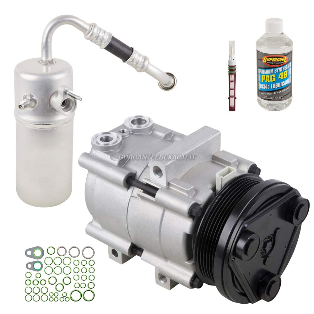 AC Compressor w/A/C Repair Kit For Ford F-150 2005 2006 - BuyAutoParts  60-81386RK NEW
