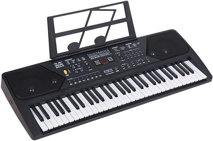 HM2 Piano electrónico Musical Digital de 61 Teclas, con ...