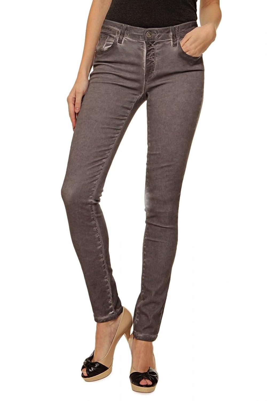 Bones of Glory Skinny Jeans BONES IN GUM, Color: Grey