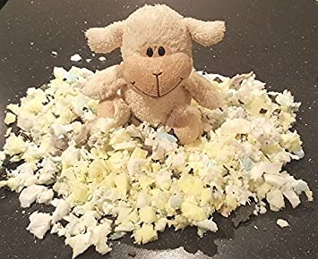 Kg:14 Kg Schaumstoffflocken Flocken F/üllmaterial aus Schaumstoff f/ür Kissen und Polster