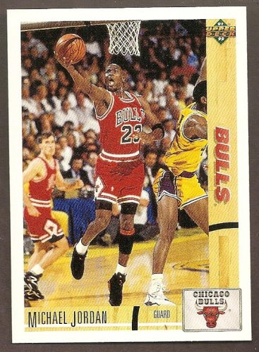 Upper Deck Basketball Michael Jordan #44 1991