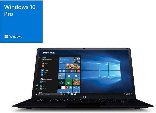 PRIXTON Netbook Pro - Ordenador portatil / Ordenadores portatiles Pantalla 14,1