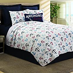 61Pc3s850ZL._SS247_ 100+ Nautical Bedding Sets