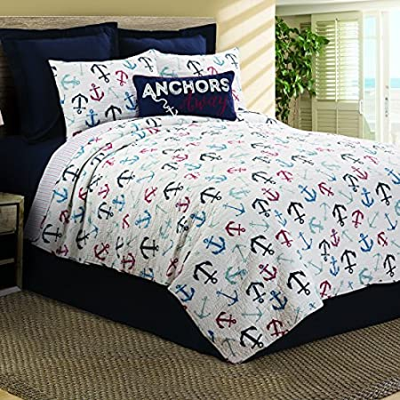 61Pc3s850ZL._SS450_ 100+ Nautical Quilts and Beach Quilts