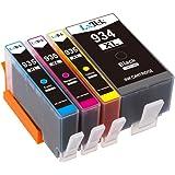LxTek Compatibile Cartucce d'inchiostro Sostituzione per HP 934XL 935XL 934 935 Alta Capacità ( 1 Nero, 1 Ciano, 1 Magenta, 1 Giallo ) per HP Officejet Pro 6830 6820 6230 6812 6815 6835 Stampante