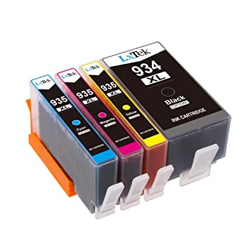 LxTek Compatible Cartuchos de Tinta Reemplazo para HP 934XL 935XL ...