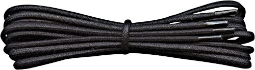 Black Round Shoe Laces 120cm Strong Quality Weave Cotton Shoelaces Free Shipping