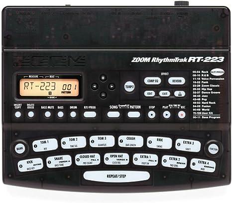 Zoom - Caja de ritmos RT-223: Amazon.es: Instrumentos musicales