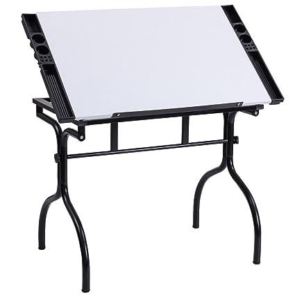 Superieur Tangkula Adjustable Drafting Table Folding Hobby Studio Art U0026 Craft Station  Drawing Desk