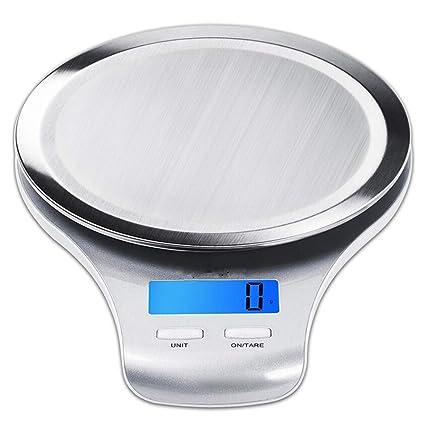 Cucsaist La Balanza De Cocina Balanza Balanza De Acero Inoxidable Balanza Electrónica Suministros De Cocina 5Kg