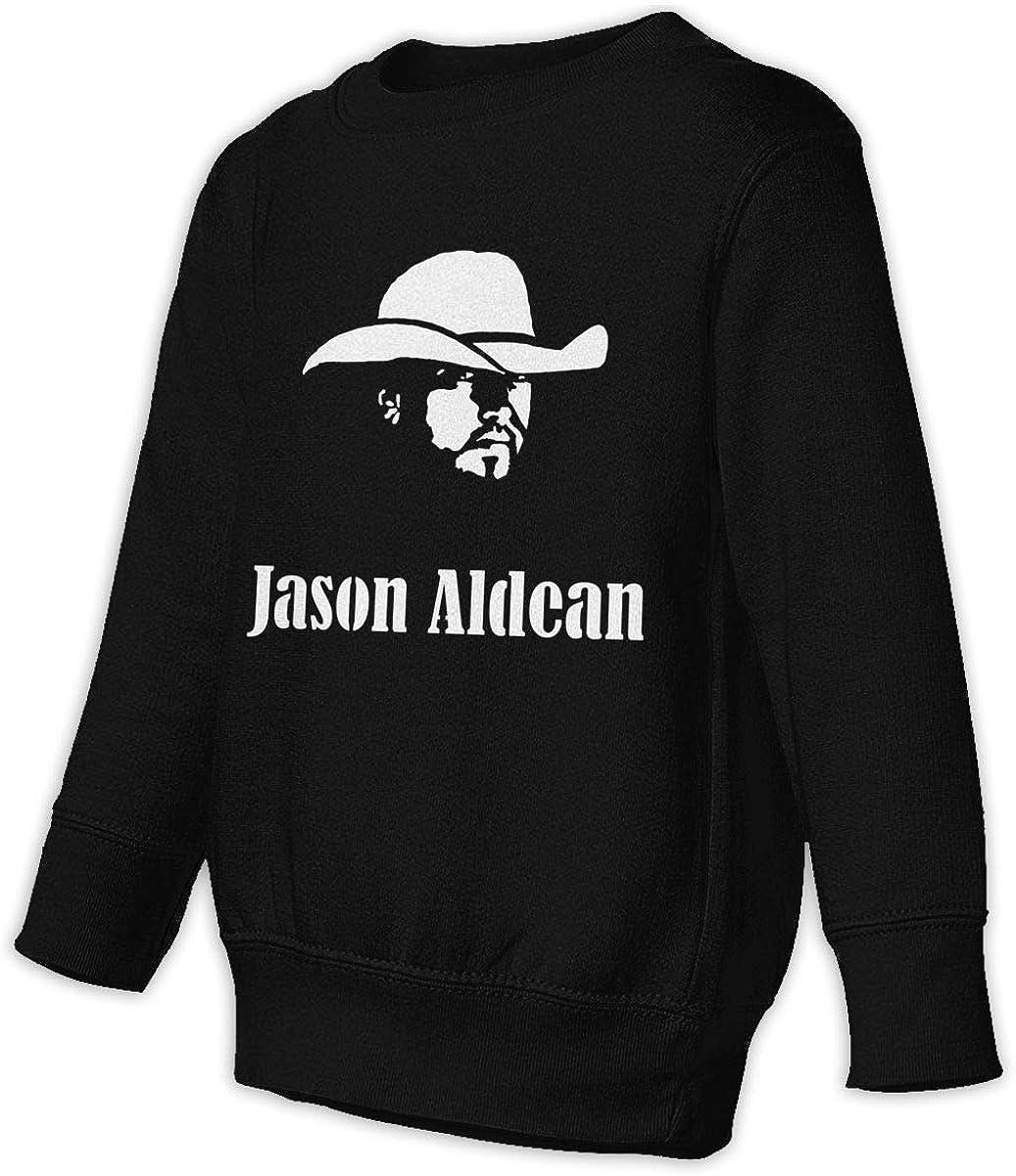Cherry Anderson Ja-Son Al-Dean Toddler//Juvenile Crew Neck Sweatshirt Black