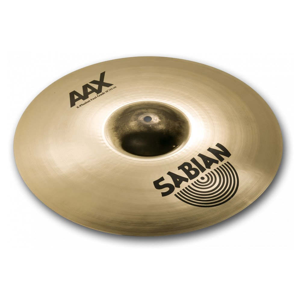 Sabian 18 Inch AAX X-Plosion FAST Crash Sabian Inc. 21885XB