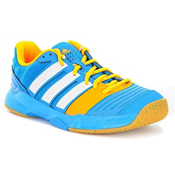 adidas Performance - Zapatillas de balonmano para niños hellblau / weiß Talla:2.0 UK - 34.0 EU: Amazon.es: Deportes y aire libre