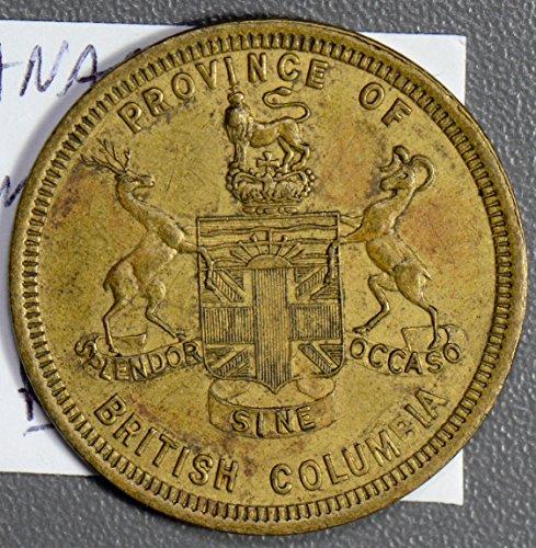 1905 CA CA0286 Canada Dominican Fair Token rare DE ()