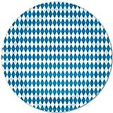 Kitchen & Housewares : Blue & White Plates   (8/Pkg)