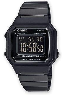 0e0712769893 Casio Reloj Digital para Hombre de Cuarzo con Correa en Acero Inoxidable  B650WB-1BEF