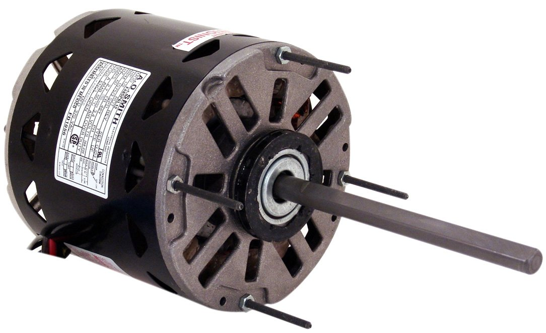 A.O. Smith Corporation FDL1026 1/4 HP, Direct Drive Fan and Blower Stock Motor, 115 V