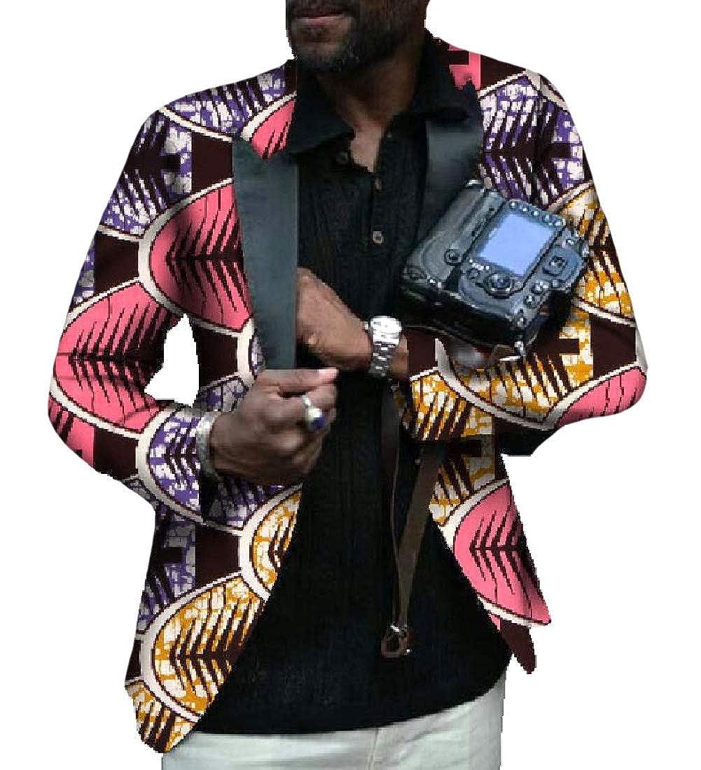 VITryst - Traje de Negocios para Hombre de Estilo Africano ...