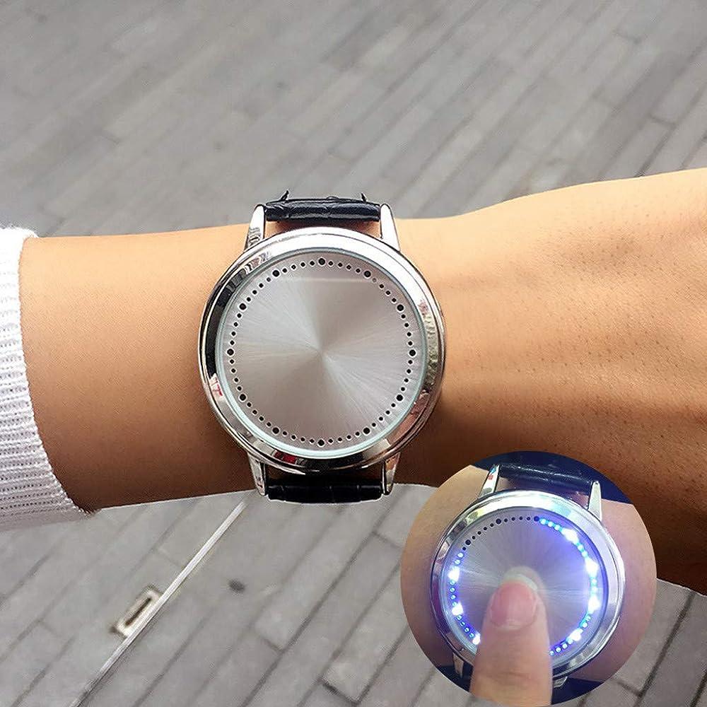 Dylung Reloj de Hombre Personalidad Reloj de Pulsera para ...