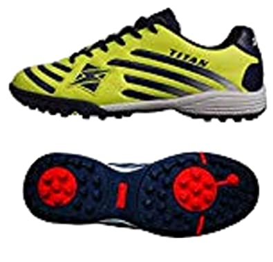 buy online ebad1 3f0c2 Zeus Scarpe Calcetto Futsal Turf MOD. Titan Giallo Fluo ...