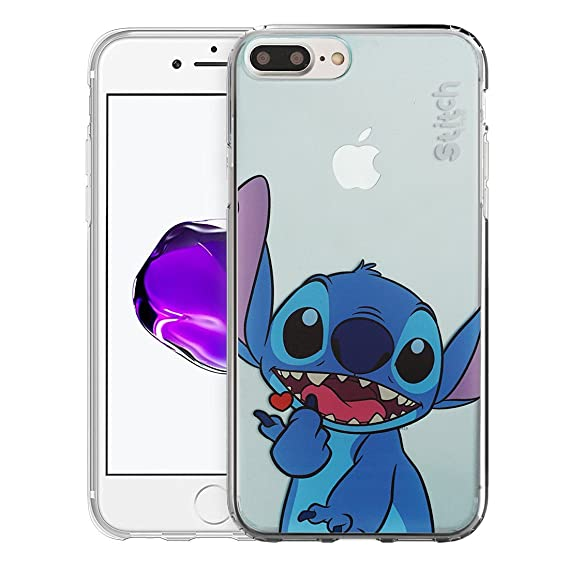 iPhone 8 / iPhone 7 Case Cute Soft Jelly Cover for [ iPhone8 / iPhone7 (4.7inch) ] Case - Color Stitch