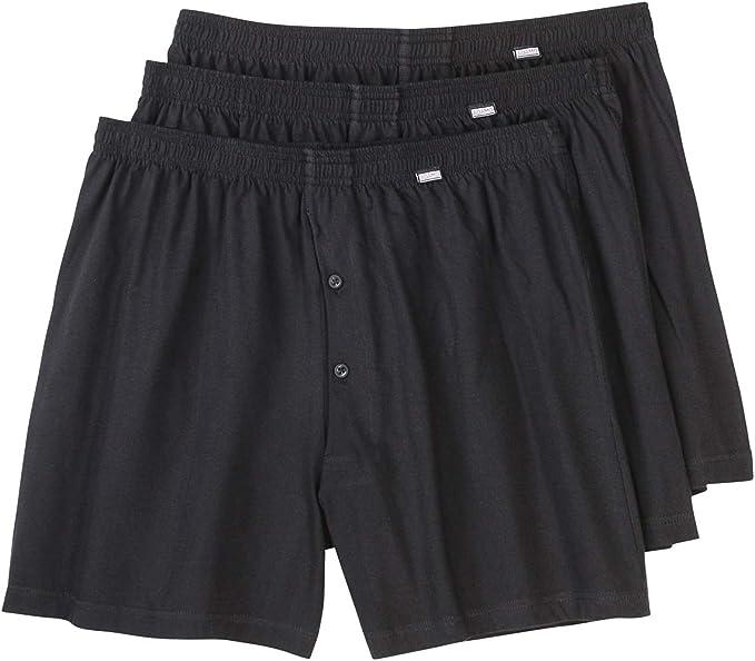 Adamo Fashion Pack De 3 Boxers Negro Hombres Tallas Grandes Amazon Es Ropa Y Accesorios