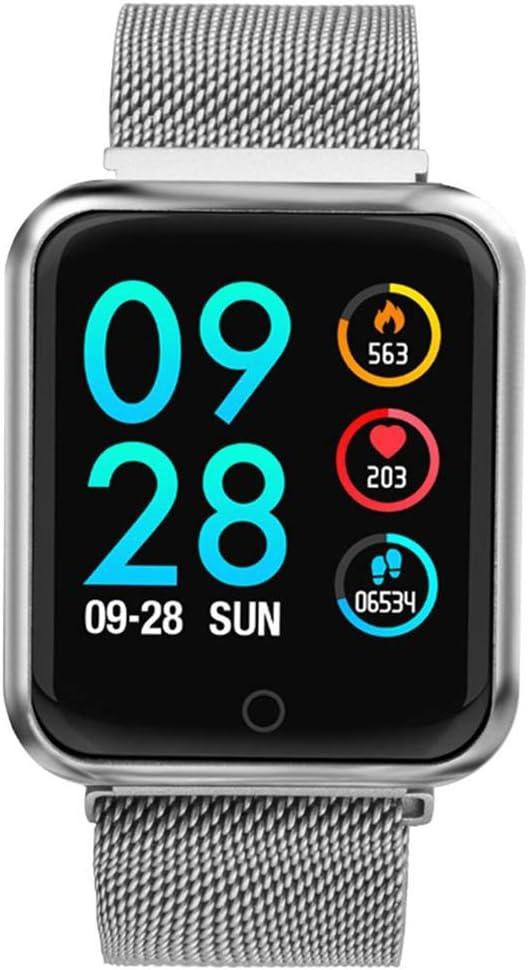 LCDIEB Reloj Deportivo Reloj Inteligente Hombres Mujeres IP68 Presión Arterial Oxígeno Monitor de Ritmo Cardíaco Pasos para Calorías Millaje Rastreador