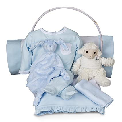 Canastilla bebé Serenity Esencial -cesta regalo recién nacido-con moda y accesorios para la hora del sueño del bebé