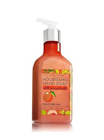 Amazon Com Bath And Body Works Peach Bellini Hand Soap With Coconut