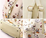 Gumstyle Re:Life In A Different World From Zero Anime Cosplay Casual Day Bag Satchel Shoulder Backpack for Girls Women