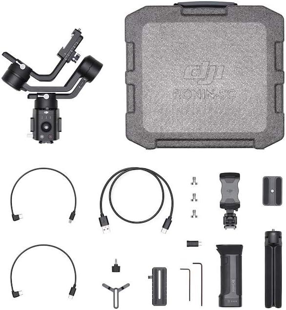 DJI Ronin-SC - Camera Stabilizer 3-Axis Gimbal Handheld for Mirrorless Cameras