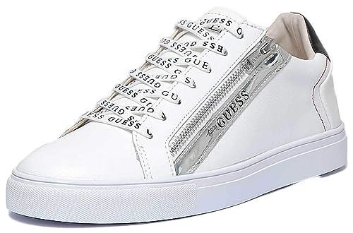 Guess Sneaker White FM5LLOLEA12  Amazon.it  Scarpe e borse 32bd931377f
