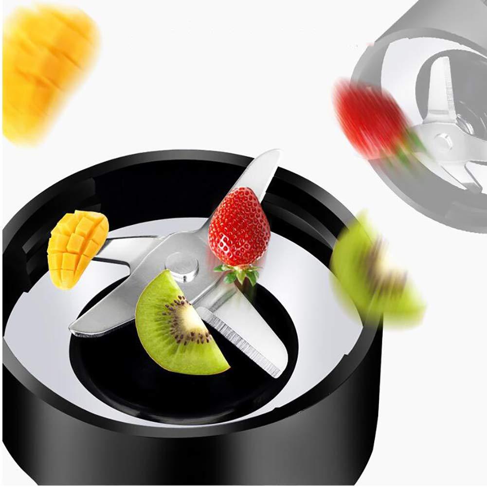 Love House Mini batidora de Fruta, Mezclador de licuadora exprimidor Taza Jugo portátil Personal Fruta Mezcla de batido de Fabricante de la máquina con Tapa ...
