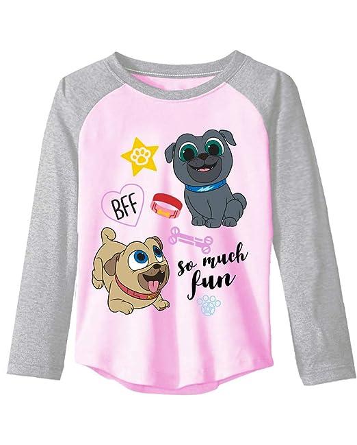 4d8beae07e Amazon.com  Puppy Dog Pals Disney Little Girls  Toddler Long Sleeve ...
