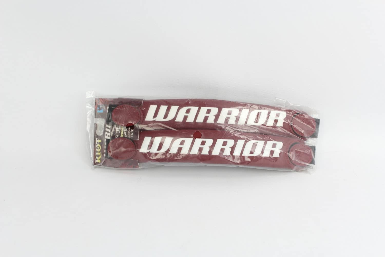 Warrior Riot Warrior Switch Cuffs Lacrosse Glove Accessory (Maroon) : Lacrosse Goalie Gloves : Sports & Outdoors