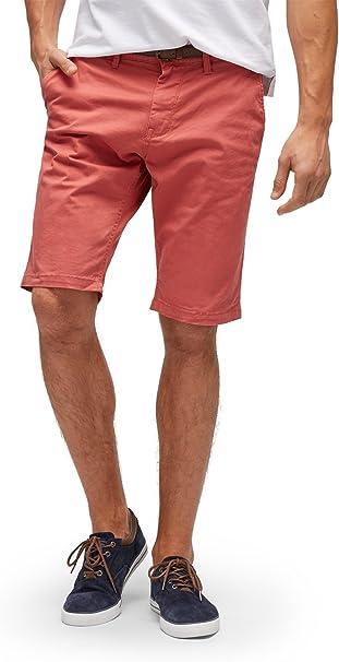 TALLA 29W. Tom Tailor Solid Chino Short Jim Pantalones Cortos para Hombre
