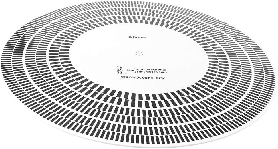 DollaTek LP Disco de Vinilo Placa giratoria Fono Tacómetro ...