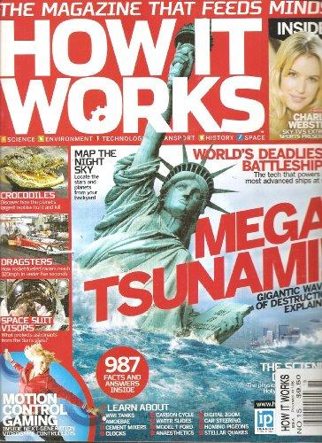 How It Works Magazine (Mega Tsunami gigantic waves of destruction explained, Number 15) (Dragster Steering)