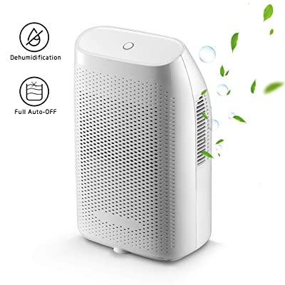 .com - SIX by SIX Dehumidifiers for Home Mini Electric, 2000ml Capacity up to(269 sq.ft) Quietly Auto Shut-Off Portable Small Dehumidifiers for Basements Bedroom, Bathroom, RV, Baby Room, Closet -