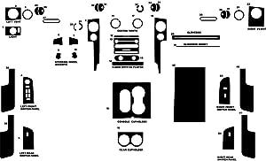 Rvinyl Rdash Dash Kit Decal Trim for Lincoln Mark LT 2006-2008 - Wood Grain (Mahogany)
