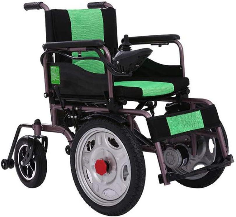 JBP max Silla de Ruedas eléctrica Escalada Anciano Scooter ...