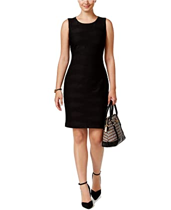 Tommy Hilfiger Women/'s Textured Sheath Dress