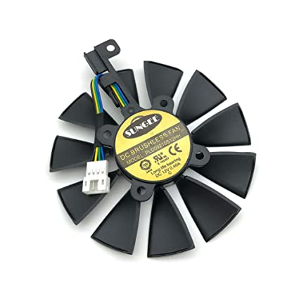Amazon com: 87MM PLD09210S12HH For ASUS GTX 980 Ti R9 390X