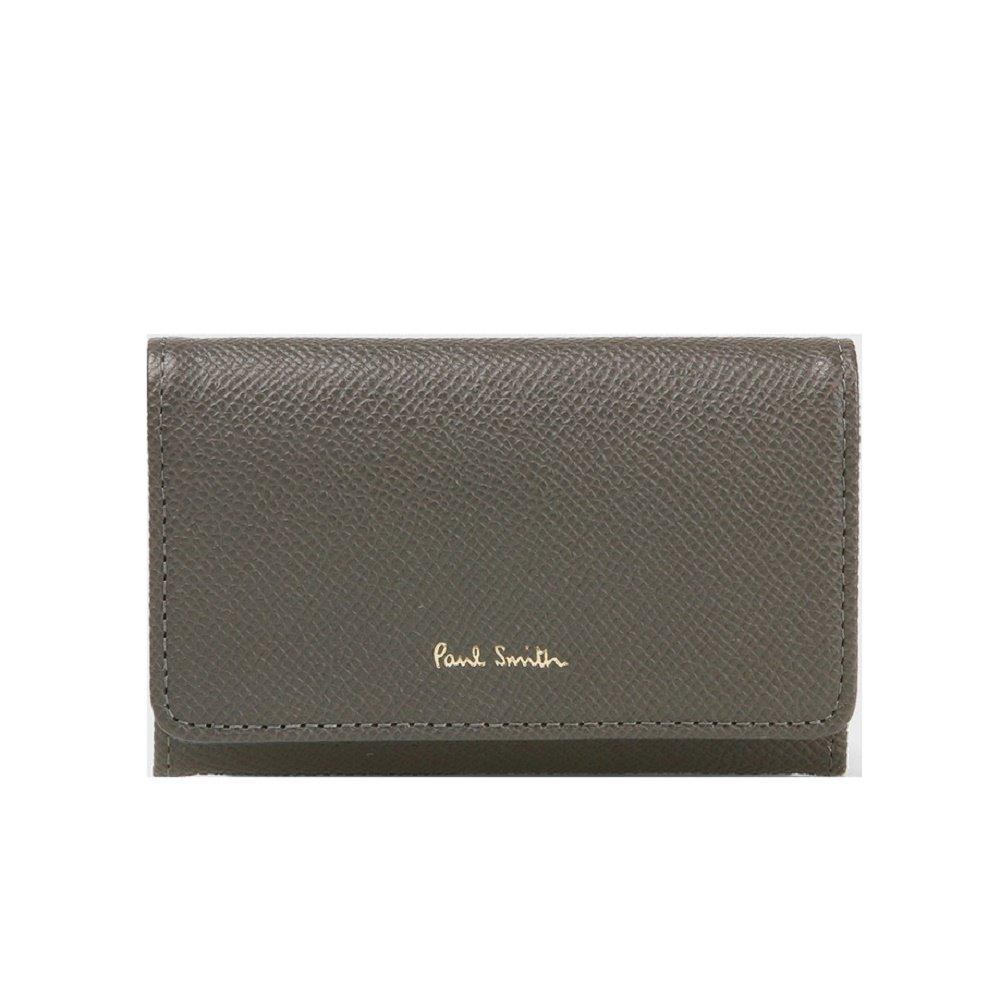 ポールスミス Paul Smith 財布 レディース カラーフラッシュ 名刺入れ カードケース (グレー)   B06X43S5ND