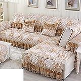 Sofa cushions,summer fabric combination full package sofa cover-A 60x120cm(24x47inch)